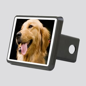 Golden Retriever Rectangular Hitch Cover