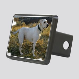 Mans best friend, lab Rectangular Hitch Coverle)