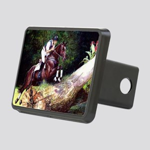 Trakehner Eventing Horse Rectangular Hitch Cover