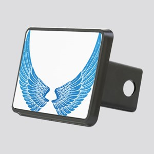 Angel wings Rectangular Hitch Cover