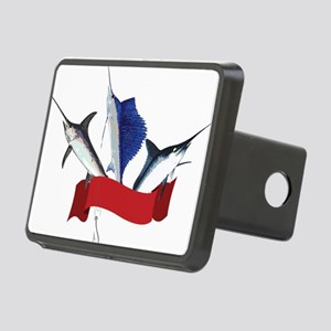 Marlin Fish Rectangular Hitch Cover