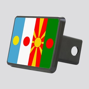 Rising four suns flags Hitch Cover