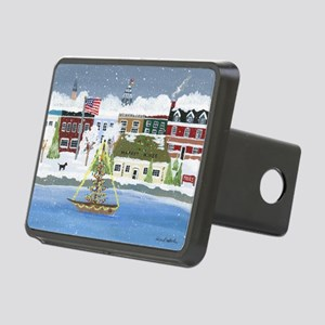 Annapolis Christmas Rectangular Hitch Cover