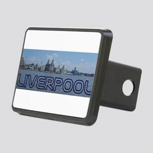 Scenic Liverpool (Blue) Rectangular Hitch Cover