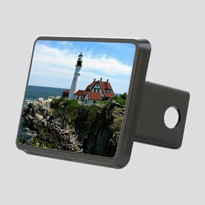 Portland, Maine Lighthouse Rectangular Hitch Cover