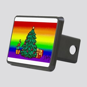 GAY Christmas art Rectangular Hitch Cover
