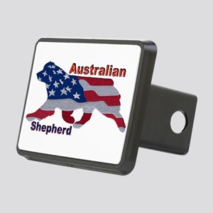 US Flag Aussie Hitch Cover