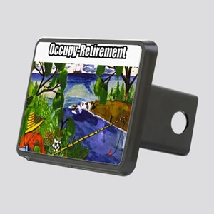 Occupy Retirement Rectangular Hitch Cover