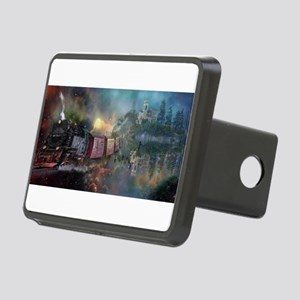 Fantasy Train Rectangular Hitch Cover