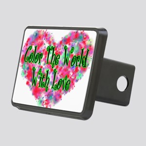 Color The World Rectangular Hitch Cover