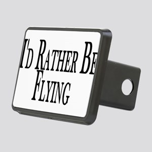 Rather Be Flying Rectangular Hitch Cover