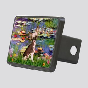 Lilies/Chinese Crested Rectangular Hitch Cover