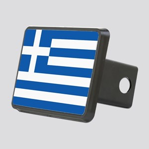 Flag of Greece Rectangular Hitch Cover