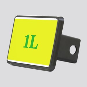 1L Gold/Green Rectangular Hitch Cover