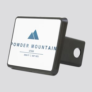 Powder Mountain Ski Resort Utah Hitch Cover