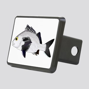 Black Margate fish Hitch Cover