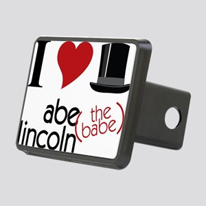 Abe The Babe Rectangular Hitch Cover