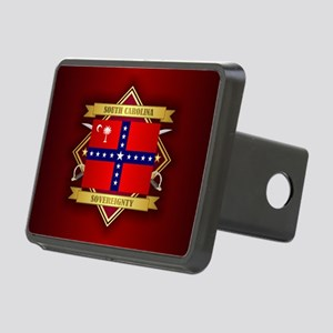 SC Sovereignty Flag Hitch Cover