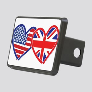 American Flag/Union Jack Flag Hitch Cover