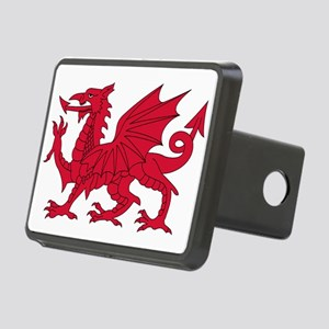 Welsh Dragon Rectangular Hitch Cover