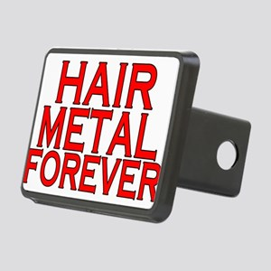 Hair Metal Forever Rectangular Hitch Cover