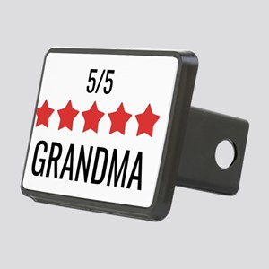 5 Star Grandma Rectangular Hitch Cover