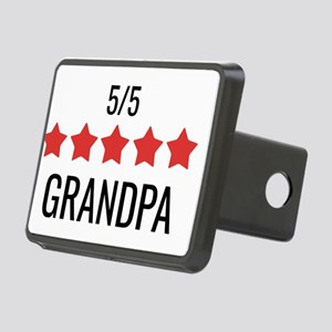 5 Star Grandpa Rectangular Hitch Cover