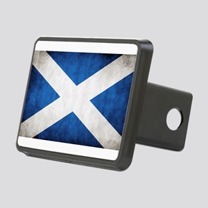 antiqued scottish flag Hitch Cover