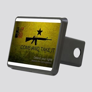Come and Take It Rectangular Hitch Cover