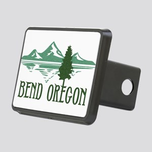 Bend Mountains & Tree Rectangular Hitch Cover
