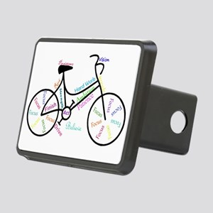 Motivational Words Bike Hobby or Sport Rectangular