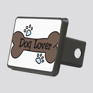 Dog Lover Rectangular Hitch Cover