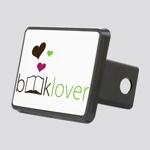 Book Lover - floating hearts Hitch Cover