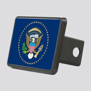 Presidential Seal Rectangular Hitch Cover