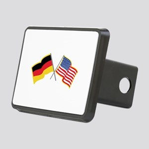 German American Flags Hitch Cover