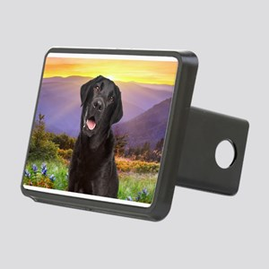 Labrador Meadow Rectangular Hitch Cover