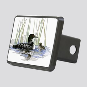 Loon and baby Hitch Cover