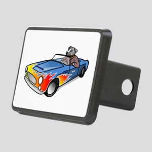 Dog Driving Sports Car Hitch Cover