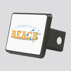 I'd rather be at the Beach Hitch Cover