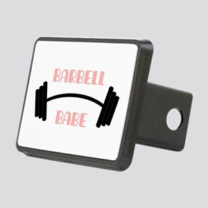 Barbell Babe Hitch Cover