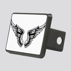 wings Rectangular Hitch Cover