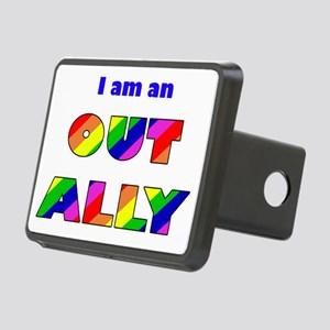 Out Ally Rectangular Hitch Cover