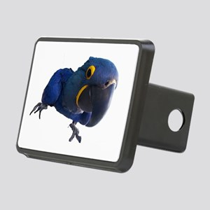 Blu the Hyacinth Macaw Rectangular Hitch Cover