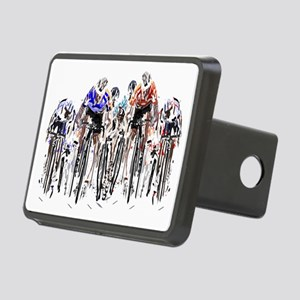 Cyclists Rectangular Hitch Cover