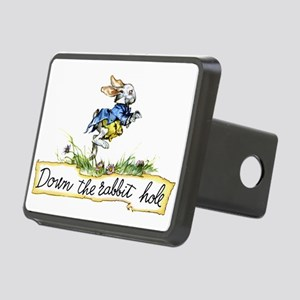 Down the Rabbit Hole Rectangular Hitch Cover
