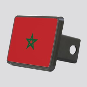 Flag: Morocco Rectangular Hitch Cover