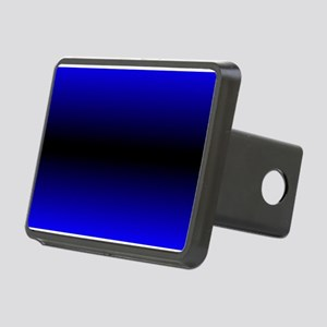 Electric Blue Rectangular Hitch Cover
