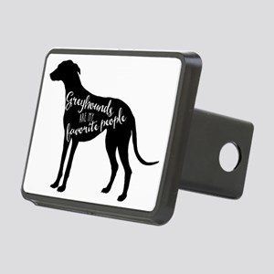 Greyhounds are my favorite Rectangular Hitch Cover