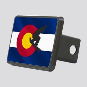 Colorado Snowboard Flag Hitch Cover