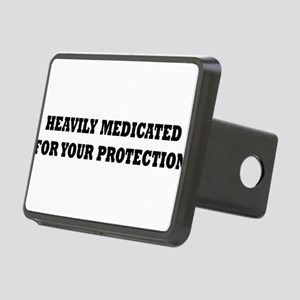 Medicated2 Rectangular Hitch Cover